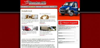 dumics költöztetés, fuvarozás weboldal készítés, google adwords, seo, facebook