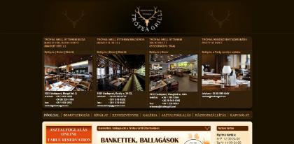 trofea grill étterem weboldal készítés, google adwords, seo