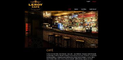 leroycafe weboldal készítés, google adwords, seo