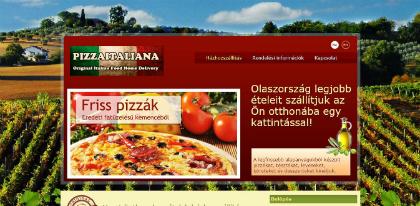 pizzaitalia weboldal készítés, google adwords, seo, webáruház